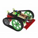 MERKUR 111104 Pásový podvozek 02 - ATMEL + RC ovládání