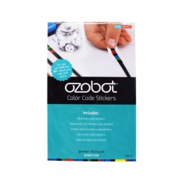 OZOBOT - nálepky s barevnými kódy